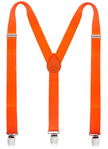 (Man of Men - Men's Fashion Suspenders - The Neon Collection (Neon)