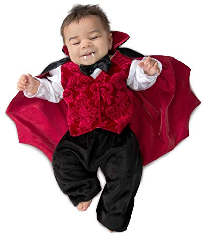 Princess Paradise Baby Boys Lil Vlad The Vampire, As Shown, 6-12M