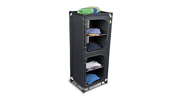 Armario con 4 estantes (estructura de aluminio fácil de ...