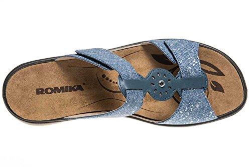 82 Blu Donna Romika Ibiza Sabot Ocean nwU8xf5q4S