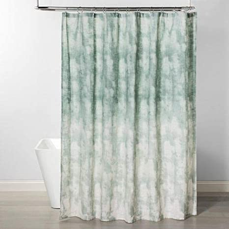 Project 62 Jacquard Ombre Printed Shower Curtain Smoke Green Home Kitchen