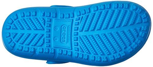 crocs Unisex-Kinder Hilo Clog Kids, Navy, 37 EU Blau (Ocean)