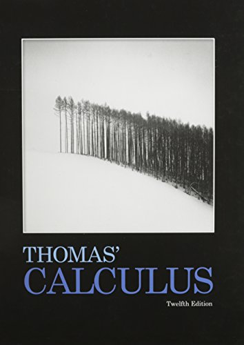 Thomas' Calculus with MathXL (24-month access) (12th Edition)