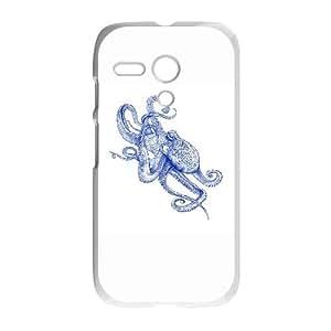 Motorola G Cell Phone Case White Octo IX7638035