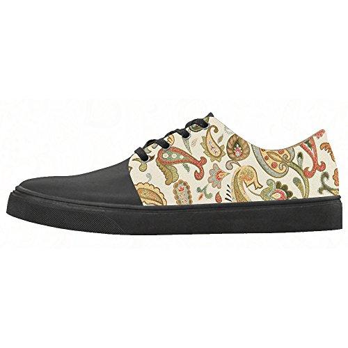 Paisley Femmes Personnalisées Chaussures De Toile Chaussures Chaussures Chaussures.