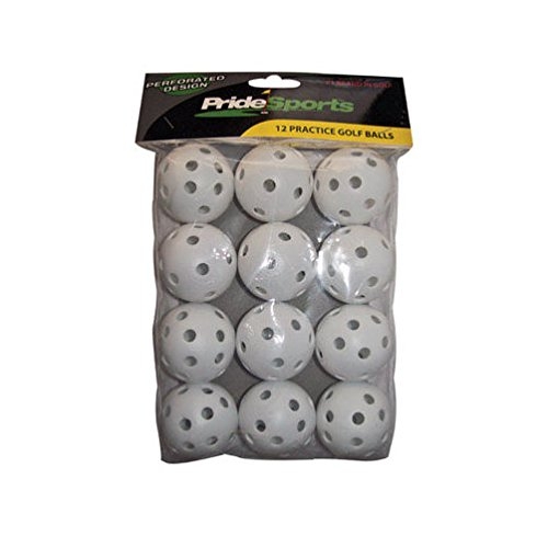 Pride Sports Golf Balls Perforated