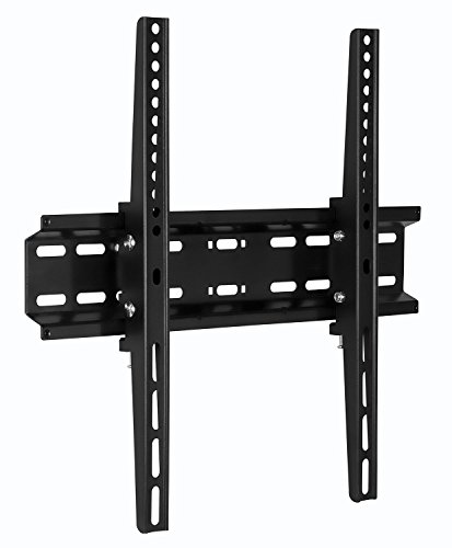 Plasma Wall Brackets (Mount-It! Tilt TV Wall Mount Bracket for flat screens 30, 32, 37, 39, 40, 42, 43, 47, 49, 50, 55 inch LED, LCD, and Plasma televisions - 77 lbs capacity, 2