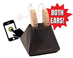 Hearing Aids for hundreds, not thousands of dollars...And Now you have ultimate control over your listening environment with the Hearing Assist HA-802 Hearing Aids and the Free HearingAssist app (available for Android & iOS devices). Opti...