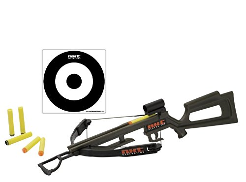 (NXT Generation Crossbow and Target Kit - Accurate Crossbow Hunting Target Practice and Play set for Kids - Comes with Crossbow, Target, Hook and Loop and Suction Cup Foam Dart Projectiles by NXT Generation)