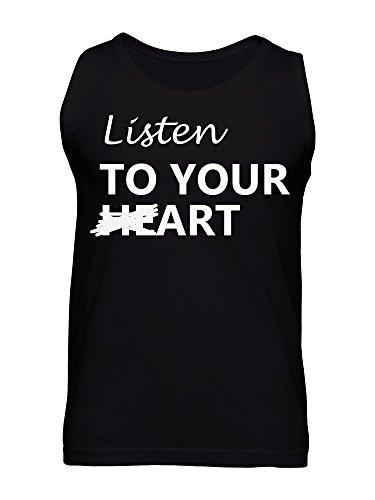 Listen To Your Heart Men's Tank Top