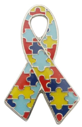Autism Awareness Ribbon Pin Autism Ribbon Pin