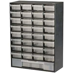 Drawer Plastic Unit Parts Storage Hardware and Craft Cabinet (33)