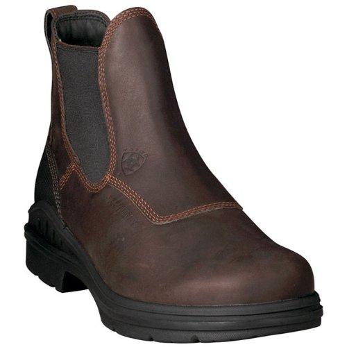 Brown Barnyard Ariat H20 Dark Riding Gore Boots Twin Short 88frTWZ