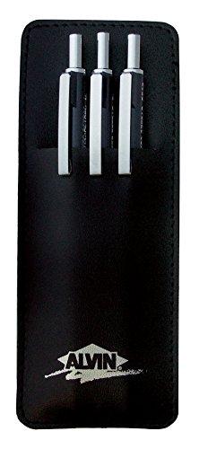 Alvin DR357C Draf-Tec Retrac Mechanical Pencil Set of 3