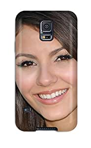 Galaxy S5 Hard Back With Bumper Silicone Gel Tpu Case Cover Victoria Justice wangjiang maoyi by lolosakes