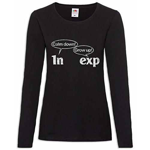 659d9d2dd9b7 Calm Down Grow Up Frauen Damen Langarm T-Shirt Größen XS – 2XL ...