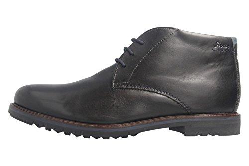 Sioux Herren Enrik-LF Klassische Stiefel Schwarz (Schwarz 000)