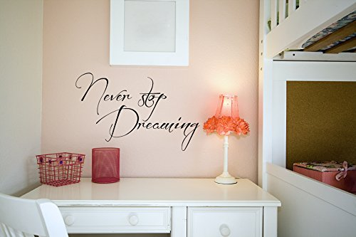 never-stop-dreaming-vinyl-wall-words-decal-sticker-graphic