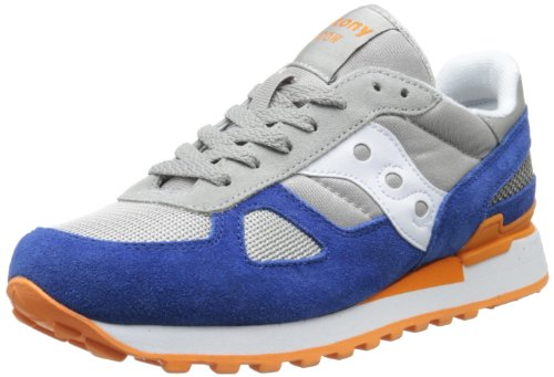 Saucony Shadow Original, Sneaker Uomo 541-grey-navy-orange