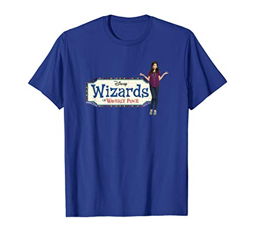 Disney Channel Wizards of Waverly Place Logo T-Shirt (Max From Wizards Of Waverly Place 2016)