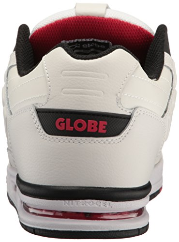 outlet shop offer Globe Men's Fury Skate Shoe White/Black/Red high quality sale online sale factory outlet discount supply buy cheap hot sale HMnUb5q8