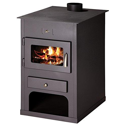 Caldera de leña estufa Victoria 05, Modelo Atlant CB, salida de calor 24 kW, placa calefactora: Amazon.es: Bricolaje y herramientas