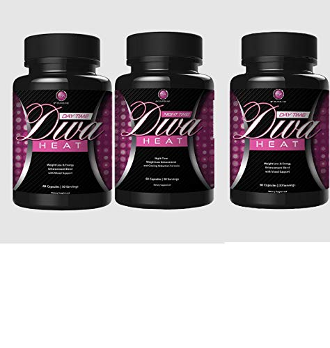 Pureline Nutrition Diva Heat Night Time 60 Capsules(Pack of 3) by P-Line (Image #1)