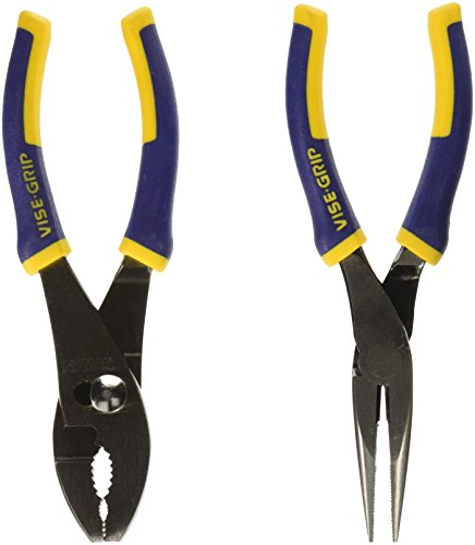 IRWIN Tools VISE-GRIP Pliers Set, 2-Piece Traditional (2078702)
