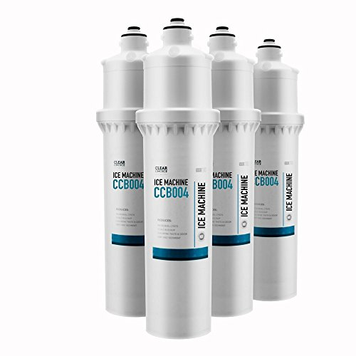 Clear Choice Ice Filtration System Replacement Cartridge for Everpure EV961232 i4000 i4000 EV9612-32 Also Compatible with CUNO CFS9112EL-S, EcoLab 9320-2404 93202404, Manitowoc AR-4000, ()