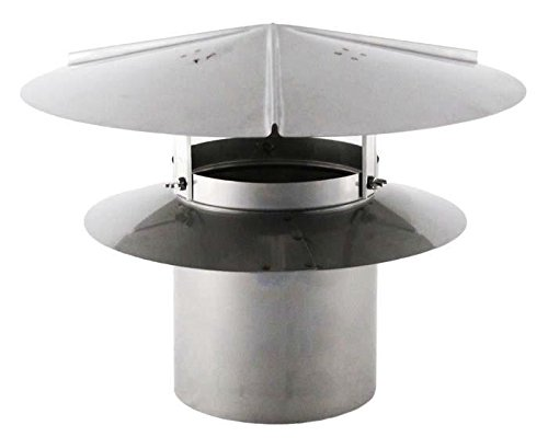 Price comparison product image Universal Chimney Cap - Galvanized 7 inch