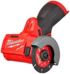 """The M12 FUEL 3"""" Compact Cut Off Tool delivers multi-material cutting capability in an ergonomic package, optimized for one-handed use. Spinning at 20,000 RPM and featuring a POWERSTATE Brushless Motor, the 2522 delivers fast and accurate cutt..."""