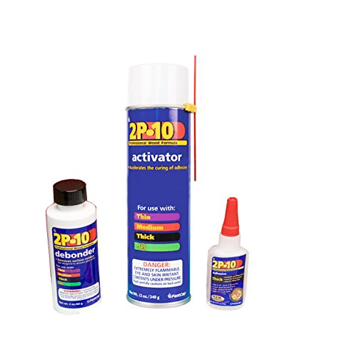 fastcap-2p-10-adhesive-225-oz-thick-12-oz-activator-with-2-oz-debonder