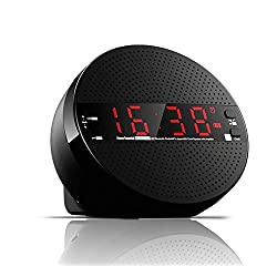 Bluetooth Speaker,Dual Alarm Clock,MP3 Player,USB Interface,Bluetooth Hands-free Calls,3.5mm AUX input,FM Radio and TF Card,Support IPhone,IPad,Samsung,Tablet PC(With remote control)