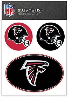 Atlanta Falcons WinCraft Official National Football League Fan Shop Licensed NFL Shop Multi-use Decals