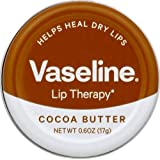 Vaseline Lip Therapy Lip Balm Tin, Cocoa Butter, 0.6 oz