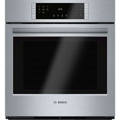 Bosch HBN8451UC 800 27Inch Stainless Steel Electric Single Wall Oven