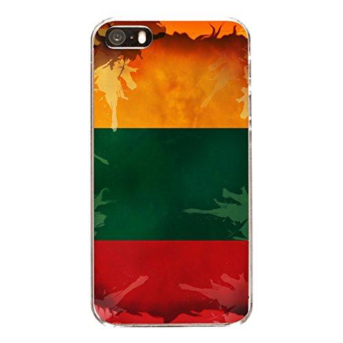 "Disagu Design Case Coque pour Apple iPhone 5 Housse etui coque pochette ""Litauen"""