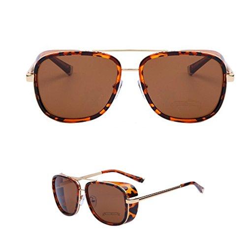 2015 Iron MAN 3 Matsuda Ray Steampunk Sunglasses Men Mirrored Designer Brand Vintage Sports Glasses - Sunglasses 3 Ironman