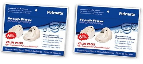 Fresh Flow Replacement Filter (Petmate 12pk Fresh Flow Fountain Replacement Filters)