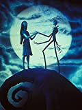 SERY Poster Print Tim Burton's Nightmare Before Christmas Movie Jack and Sally Printing Poster Wall Posters Online