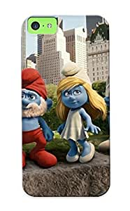 Fashionable Style Case Cover Skin Series For Iphone 5c- The Smurfs Modern
