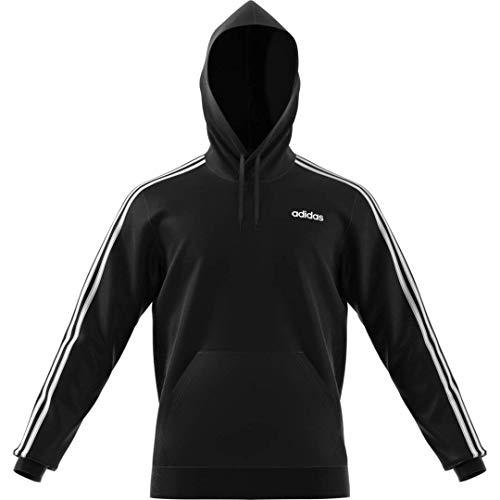 adidas Men's Essentials 3-Stripes Regular Fit Training Hooded Sweatshirt