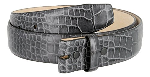 Grey Alligator Strap - 3