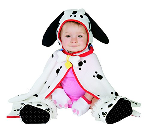 [Caped Cutie Collection Infant Costume: Lil' Pup] (Black And White Puppy Toddler Child Costumes)