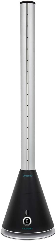 Cecotec Ventilador de Torre sin Aspas ForceSilence 9900 Skyline Bladeless. 38