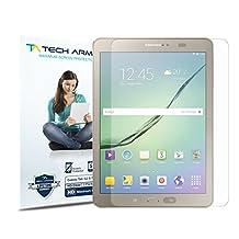 "Galaxy Tab S Screen Protector, Tech Armor High Definition HD-Clear Samsung Galaxy Tab S - 9.7"" Film Screen Protector [2-Pack]"
