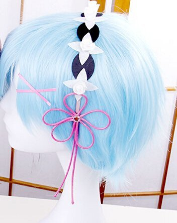 Cosplay tool toy Re: different world life RAM starting from scratch / REM-style ornament headpiece Halloween costume event makeover disguise rem, Rem