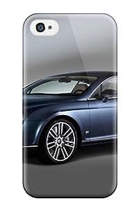 New Iphone 4/4s Case Cover Casing(bentley Diamond Grey Black Cars Bentley)