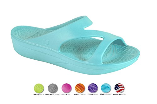 Telic VOTED BEST COMFORT SHOE Arch Support Recovery Z-Strap Sandal +BONUS Pumice $49 Value (Made in USA)