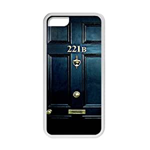 Sherlock Holmes Door 221B Cell Phone Case for ipod touch 4 touch 4